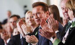Schwarzenegger im März in Graz / Bild: (c) APA/ERWIN SCHERIAU (ERWIN SCHERIAU)