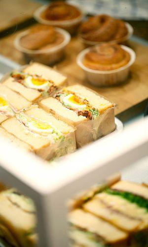 Japanische Sandwiches