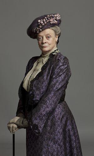 Großartig: Maggie Smith als Violet Crawley
