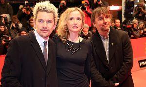 Ricahrd Linklater (rechts) mit seinen Stars Ethan Hawke und Julie Deply