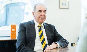 Wird auch in der Pension in der Wirtschaft verankert bleiben: Franz Brosch, Noch-Geschäftsführer von Wanzl Ungarn.