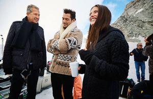 Mario Testino, David Gandy und Bianca Balti.