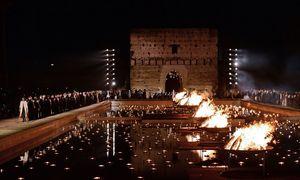In der eindrucksvollen Kulisse des El-Badi-Palasts wurde die Kollektion präsentiert.