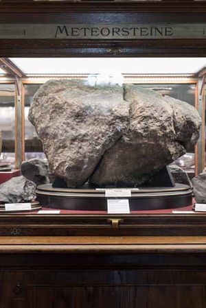 Nicht Meteoriten bedrohen unseren Lebensraum, sagt Köberl, sondern der Mensch.