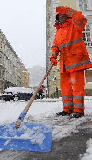 Der Wiener Winterdienst im Einsatz