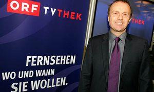 Thomas Prantner präsentiert seine TVthek