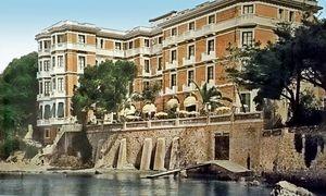 Das Hôtel Belles Rives heute, früher war es die Villa der Fitzgeralds.