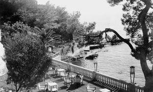 Hôtel Belles Rives. In Juan-les-Pins erhoffte sich Fitzgerald Ruhe für das Schreiben.