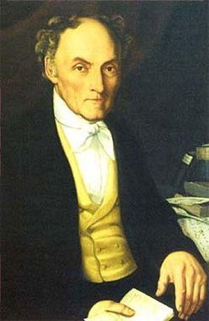 Der Dichter und Komponist Ernst Anschütz (1780 bis 1861)