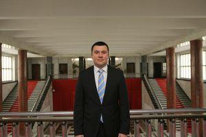 Branislav  Bugarski, ''Außenminister der Vojvodina''
