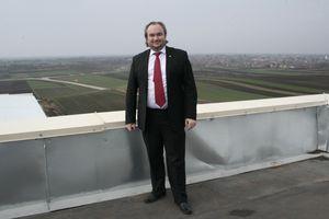 Alexander Samonig, österreichischer Investor und Besitzer eines Businessparks in der Vojvodina