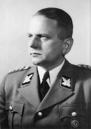 Otto Ohlendorf 1943 als SS-Brigadeführer