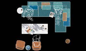 Analyse. Citterio setzte sich intensiv mit den Wohngewohnheiten rund ums Sofa auseinander.