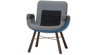"""Stofflich. Für Vitra entwarf Jongerius den """"East River Chair""""."""