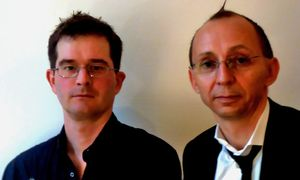 Felix Stalder (li) und Konrad Becker