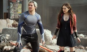 Die Neuzugänge: Quicksilver/Pietro Maximoff (Aaron Taylor-Johnson) und Scarlet Witch/Wanda Maximoff (Elizabeth Olsen)