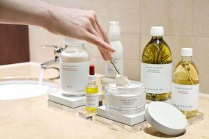 Im Spa des Ritz Carlton Vienna kommen nur Produkte von Susanne Kaufmann zum Einsatz.