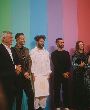 Hed Mayner gewann den Karl-Lagerfeld-Spezialpreis.