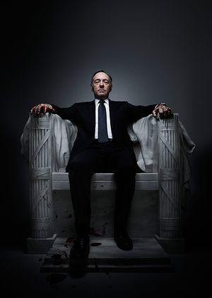Mächtig: Kevin Spacey spielt den US-Kongressabgeordneten Francis Underwood
