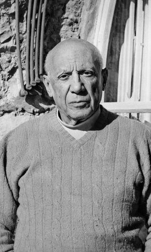 Pablo Picasso ist einer der berühmtesten Maler der Welt und starb 1973.