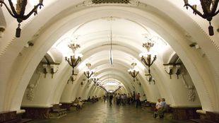 Moskau, Station Arbatskaja