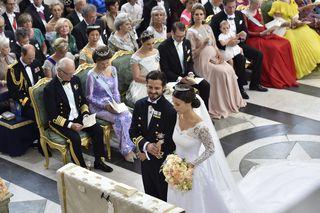 Carl Philip Und Sofia Royale Hochzeit Verzückt Schweden Diepressecom