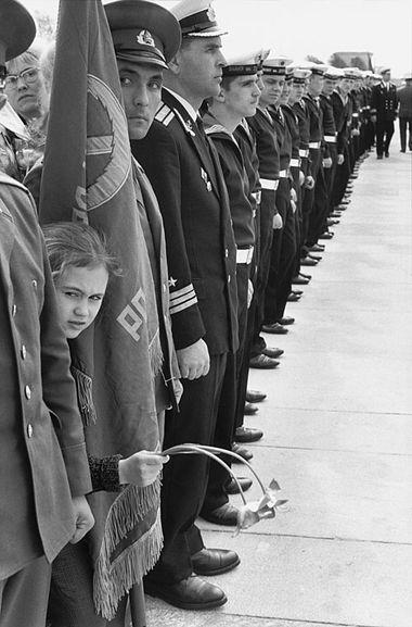 SOWJETUNION. Leningrad. 9. Mai 1973. Gedenken an den Sieg über die Nazis.