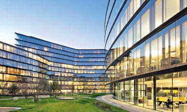 (c) Christian Wind Ein Headquarter mit Ausblick – am Erste Campus der Erste Bank in Wien gibt es für jeden der Mitarbeiter gleich gute Arbeitsplätze ...