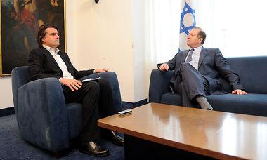 ''Presse''-Außenpolitikchef Christian Ultsch (links) und Aviv Shir-On