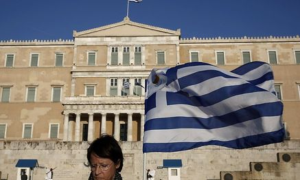 Parlament in Athen / Bild: REUTERS