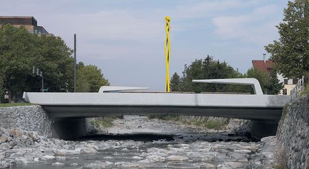 Sägebrücke, Dornbirn / Bild: Günter König Fotografie