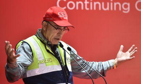 Coca-Cola-Chef Muhtar Kent verabschiedet sich mit Gewinn- und Umsatzrückgang / Bild:  AFP (BAY ISMOYO)