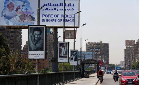 Der Besuch des Papstes in Kairo findet unter strengsten Sicherheitsvorkehrungen statt. / Bild: (c) REUTERS (AMR ABDALLAH DALSH)