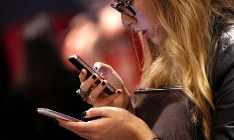 Themenbild: Smartphone / Bild: (c) REUTERS (� Mike Segar / Reuters)