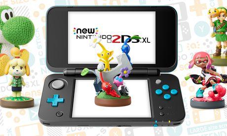 Auch die amiibo-Figuren können auf der 2DS XL eingesetzt werden.  / Bild: (c) Nintendo