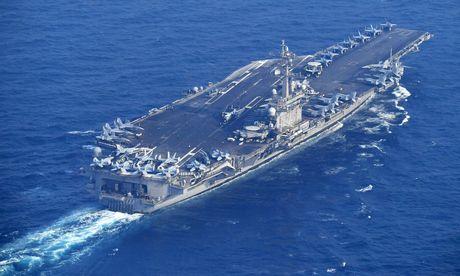 USS Carl Vinson / Bild: REUTERS