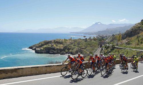 Radsport: Slowene Polanc gewinnt Giro-Etappe auf dem Ätna