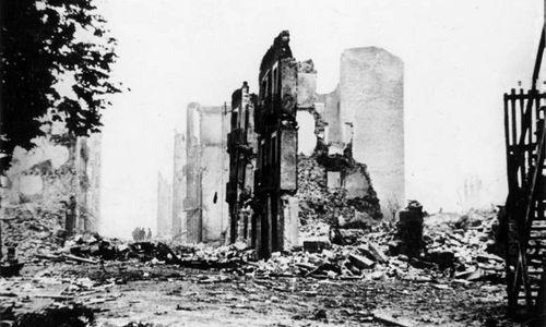 """Als die """"heilige Stadt der Basken"""" in Schutt und Asche versank"""