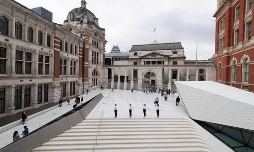 Erweitert: Das Londoner Victoria und Albert Museum wurde neu eröffnet