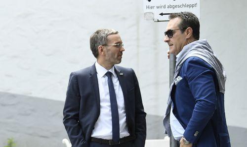 """""""Aus und Schluss"""": Kickl schließt Strache-Rückkehr aus"""