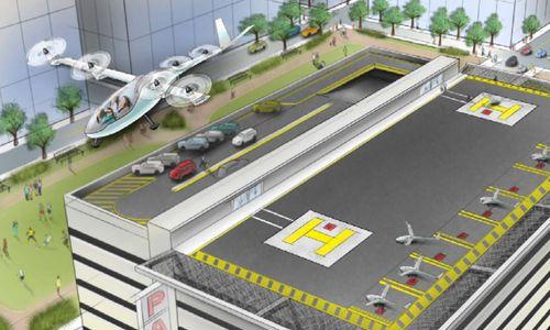 Uber will mit fliegenden Taxis hoch hinaus