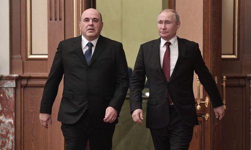 Neue Russische Regierung vorgestellt