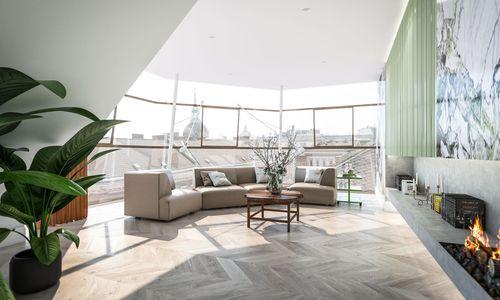 Im Herzfeldhaus in Wien entstehen derzeit 13 neue Altbauwohnungen.