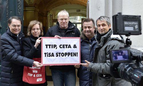 Volksbegehren gegen Freihandelsabkommen