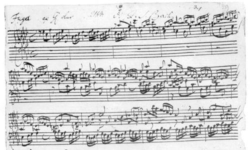 Bach, frisch und schön