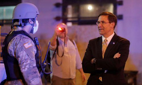 US-Verteidigungsminister gegen Militäreinsatz bei Protesten