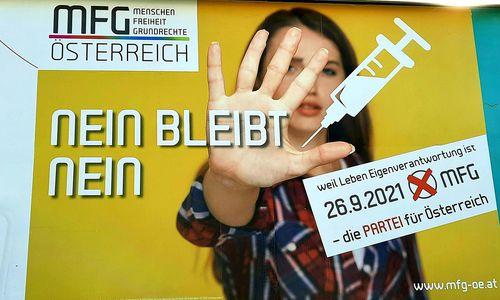 Pandemie für FPÖ- und MFG-Wähler wichtigstes Wahlmotiv