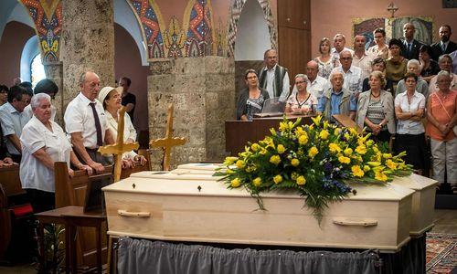 Nach 75 Jahren in Gletscherspalte: Schweizer Ehepaar beigesetzt