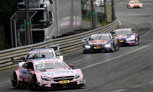 Motorsport: Auer fiel in DTM-Wertung zurück