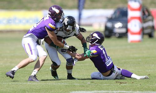 Football: Vikings Vienna ziehen in Austrian Bowl ein